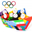 Stock Photo: Conceptual image of olympic games and sport competition
