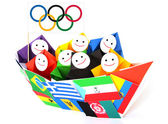 Conceptual image of olympic games and sport competition — Stock Photo
