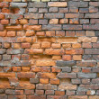 Old, dirt brick wall texture — Stock Photo