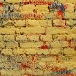 Royalty-Free Stock Photo: Old, ragged brick wall texture