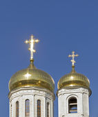 Dome of the Cathedral of Christ the Savior Cathedral in Pyatigor — Stock Photo