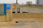 Parking Ramp Exit — Stock Photo
