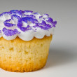 Purple Cupcake — Stock Photo