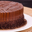 Chocolate Fudge Cake — Stock Photo