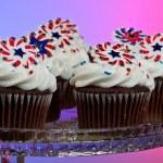 American Cupcakes — Stock Photo #11850512