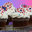 Royalty-Free Stock Photo: American Cupcakes