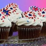 American Cupcakes — Stock Photo #11850518
