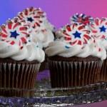 American Cupcakes — Stock Photo #11850526