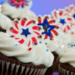American Cupcakes — Stock Photo #11850536