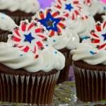 American Cupcakes — Stock Photo #11850541