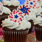 American Cupcakes — Stock Photo #11850549