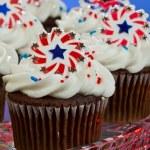 American Cupcakes — Stock Photo #11850560