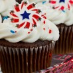 American Cupcakes — Stock Photo #11850566