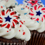 American Cupcakes — Stock Photo #11850569