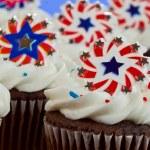 American Cupcakes — Stock Photo #11850573