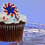 US-amerikanische cupcake — Stockfoto #11850576