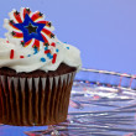 amerikanska cupcake — Stockfoto