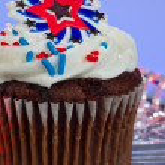 US-amerikanische cupcake — Stockfoto #11850581