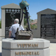 Stock Photo: Vietnam War Memorial, Cedar City Utah
