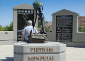 Vietnam War Memorial, Cedar City Utah — Stock Photo