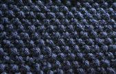 синий одеяло бисером текстуры #2 — Стоковое фото