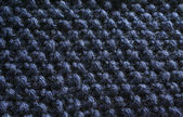Blue beaded texture blanket #2 — Stockfoto
