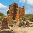 Pueblo Indian sandstone dwellings, Mesa Verde, CO #5 — Stock Photo