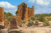 Pueblo Indian sandstone dwellings, Mesa Verde, CO #5 — Stock Photo