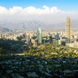 Stock Photo: Santiago cityscape daylight