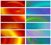 Set of abstract banners 480x1800px — Stock Photo