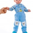 A small child and first steps — Stock Photo #11165141