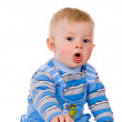 A small child is coughing — Stock Photo #11165151