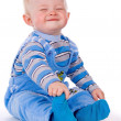 Small child sits and laughs — Stock Photo #11165161