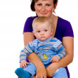 Mom and little child — Stock Photo #11165209