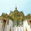 Thai art at Wat Phra Kaeo, Bangkok. — Stock Photo
