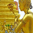 Angels at Wat Phra Kaeo, Bangkok - Stock Photo