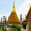 View of Wat Phra Kaeo, Bangkok. — Stock Photo