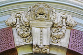 Stone lions at The Grand Palace. — Stock Photo