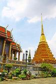 View of Wat Phra Kaeo, Bangkok. — Stock Photo