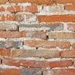 Old Brick and Cement Wall — Stock Photo