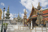 Giant at Wat Phra Kaew, Bangkok. — Stock Photo