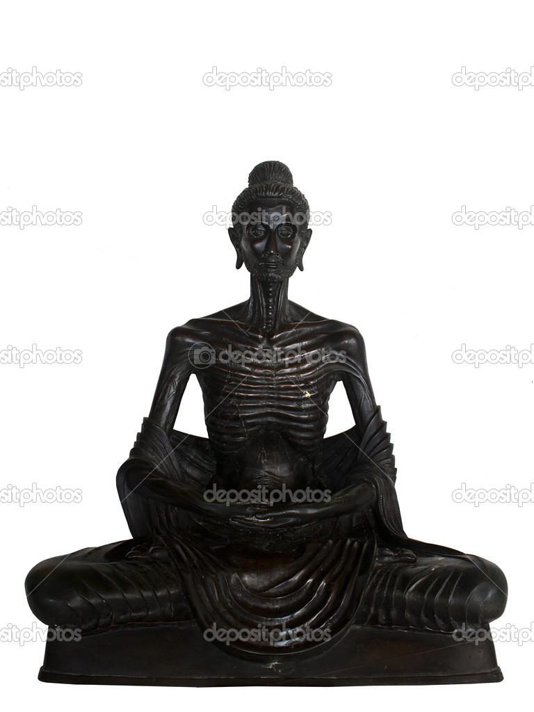 Ascetic Life Buddharupa Style Stock Photo Wilkat 11240423