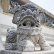 Stone Lion at Wat Phra Kaew. — Foto Stock