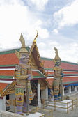 Giant at Wat Phra Kaew, Bangkok. — Stock Photo