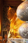 Reclining Buddha, Wat Pho, Bangkok — Stock Photo