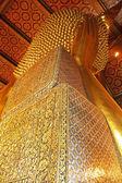 Thai kunst auf der rückseite des buddha. — Stockfoto