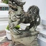 stenen leeuwen, chinese stijl — Stockfoto