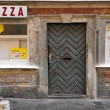 Stock Photo: Abandoned pizzeria