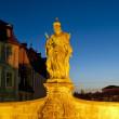 Statue of Queen Kunegunde — Stock Photo