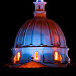 Chuch Dome at Night — Stock Photo